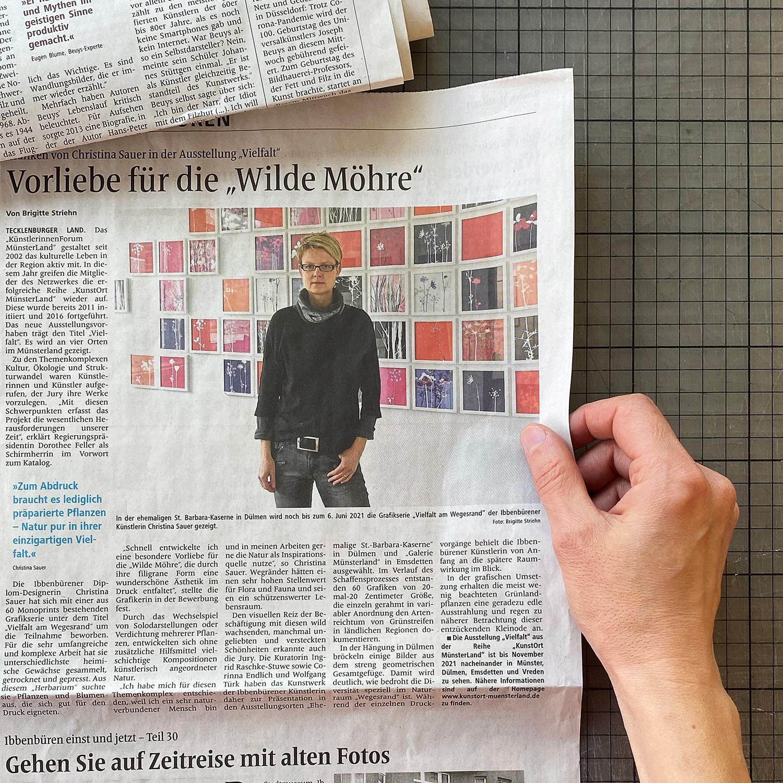 Pressebericht   IVZ [12.05.2021]   Foto und Text: Brigitte Striehn