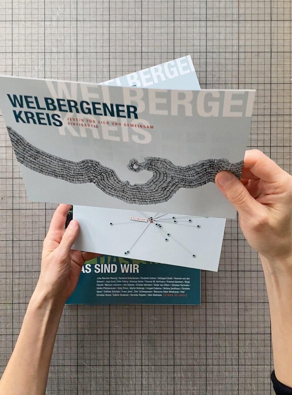 fertiger Flyer zur Selbstdarstellung   Welbergener Kreis   Ansicht 1
