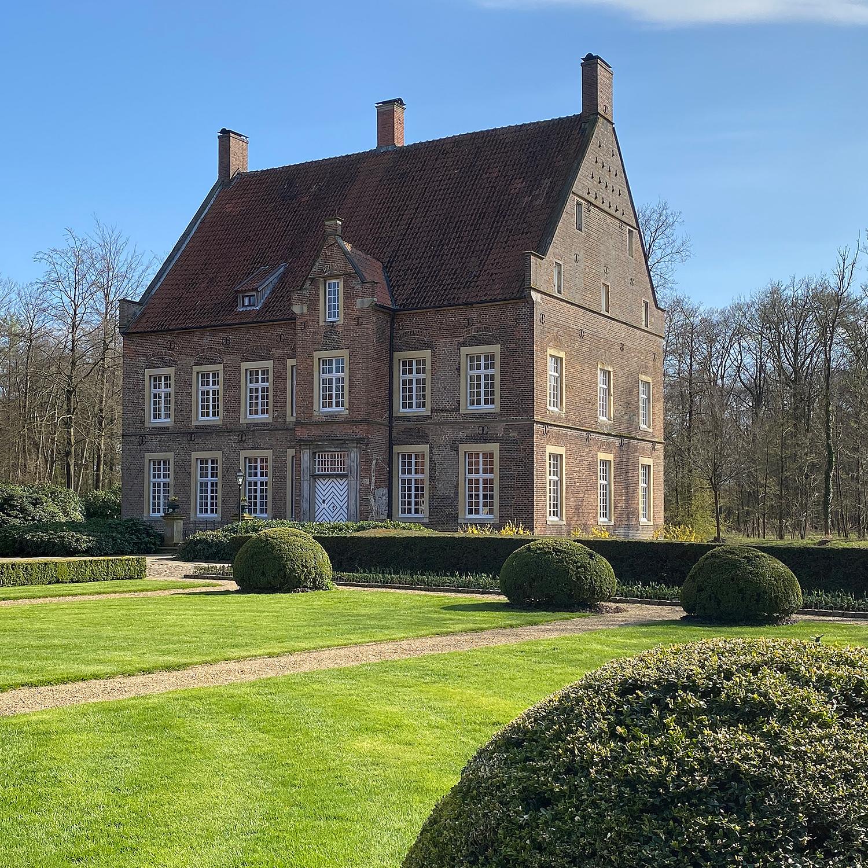 Wasserburg Haus Welbergen   Namensgeberin der Künstlervereinigung Welbergener Kreis e.V.   Ansicht 1