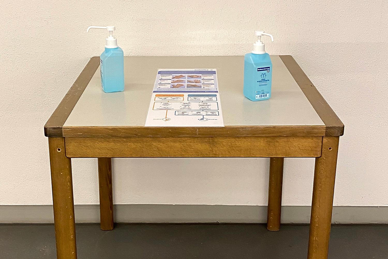 Corona im Anmarsch   Hygienemaßnahmen für Messebesucher