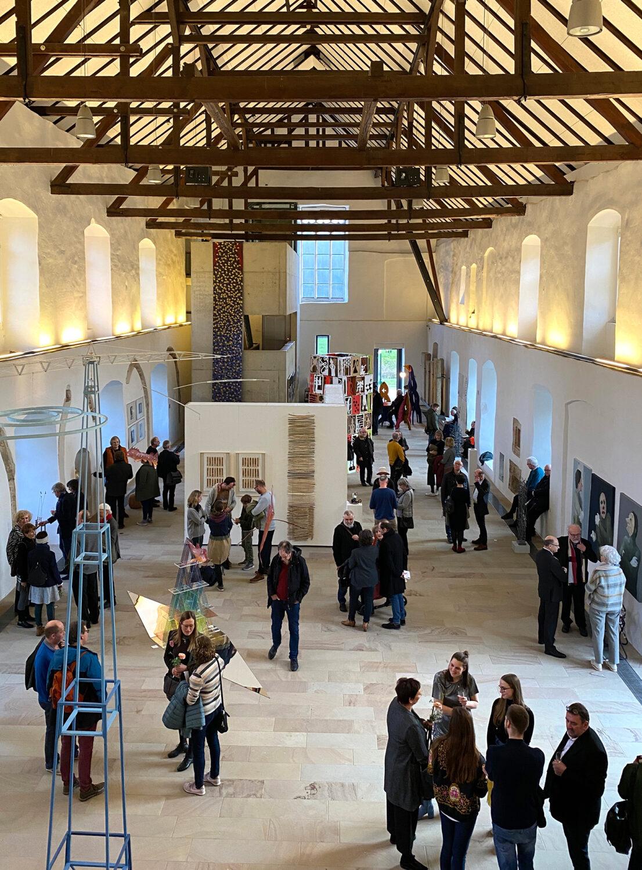 Eröffnung der Jubiläumsausstellung   Blick in die Ausstellung