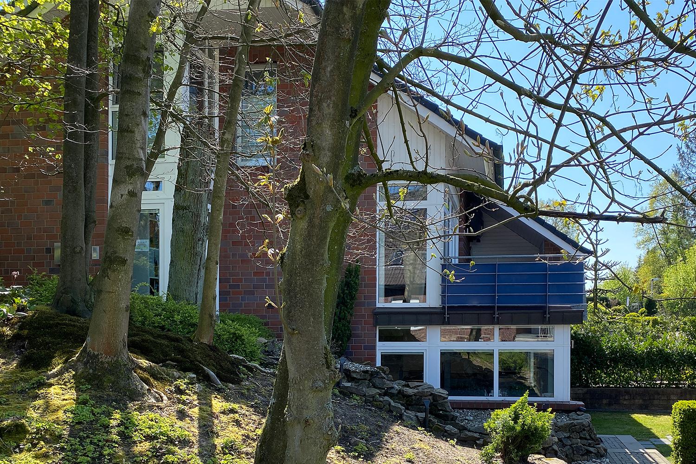 Wohnhaus und Atelier Sauer Ibbenbüren | Außenansicht