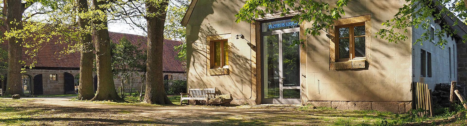 Workshops Kloster Bentlage Rheine | Aussenansicht | Druckwerkstatt