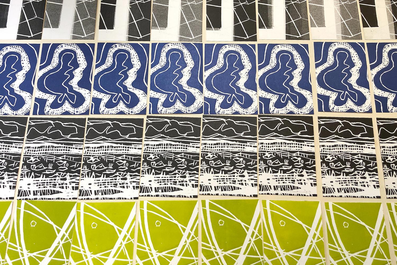 Gemeinschaftsarbeit hier in Form einer Postkarten-Edition | Auflagehöhe richtet sich nach der Anzahl der Kursteilnehmer | jeder Kursteilnehmer erhält 1 Exemplar aller Motive