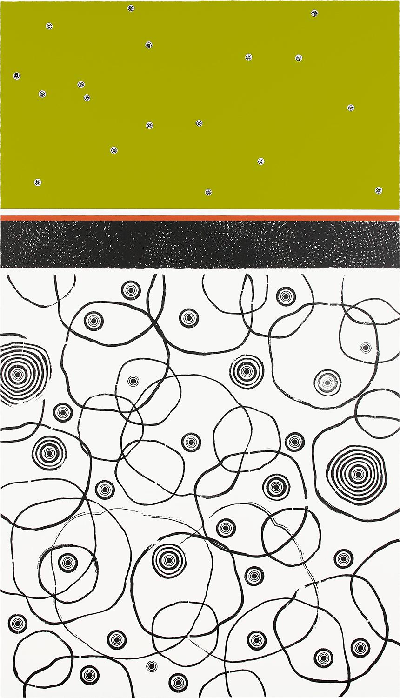 BAUM-GESCHICHTEN V | Auflage 4 | Handabzug von Baumscheiben / Monotypie | 140 x 80 cm | 2019